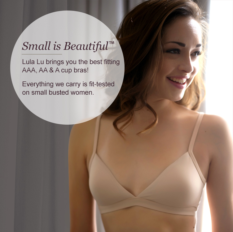 We carry petite lingerie and small bras